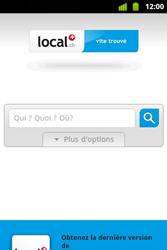 Alcatel OT-983 - Internet et roaming de données - Navigation sur Internet - Étape 14