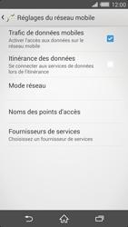 Sony Xperia Z2 - Internet et roaming de données - Désactivation du roaming de données - Étape 7