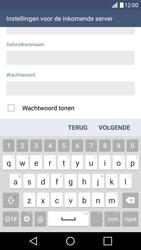 LG K10 4G - E-mail - Account instellen (IMAP zonder SMTP-verificatie) - Stap 11