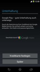 Sony Xperia Z1 - Apps - Konto anlegen und einrichten - Schritt 21