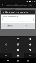 HTC Desire 816 - Sécuriser votre mobile - Personnaliser le code PIN de votre carte SIM - Étape 9