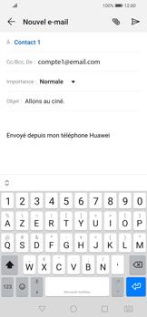 Huawei P Smart 2020 - E-mails - Envoyer un e-mail - Étape 8