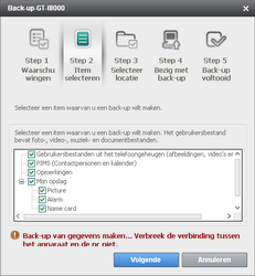 Samsung I8000 Omnia II - Software - Update installeren via PC - Stap 8