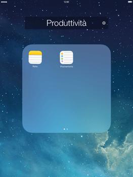 Apple iPad mini iOS 7 - Operazioni iniziali - Personalizzazione della schermata iniziale - Fase 5