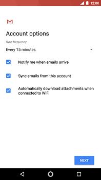Nokia 6 (2018) - E-mail - Manual configuration (yahoo) - Step 11