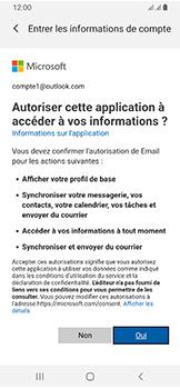 Samsung Galaxy A40 - E-mails - Ajouter ou modifier votre compte Outlook - Étape 9