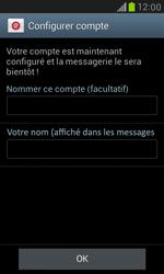 Samsung Galaxy S III Mini - E-mail - configuration manuelle - Étape 16