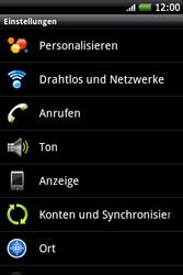HTC A510e Wildfire S - MMS - Manuelle Konfiguration - Schritt 4