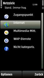 Nokia 5230 - Internet - Manuelle Konfiguration - Schritt 7