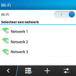 BlackBerry Q5 - Wifi - handmatig instellen - Stap 7