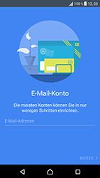 Sony Xperia XZ - E-Mail - Konto einrichten - 6 / 25