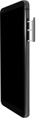 LG G6 - Android Oreo - SIM-Karte - Einlegen - Schritt 3
