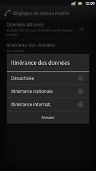 Sony Xperia S - Internet et roaming de données - Désactivation du roaming de données - Étape 7