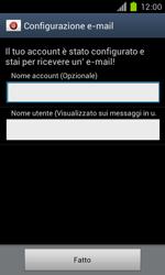 Samsung Galaxy S II - E-mail - Configurazione manuale - Fase 16