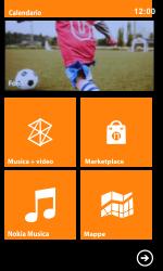 Nokia Lumia 800 / Lumia 900 - Operazioni iniziali - Personalizzazione della schermata iniziale - Fase 5