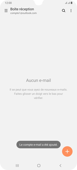 Samsung Galaxy A70 - E-mail - 032c. Email wizard - Outlook - Étape 11