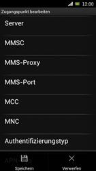 Sony Ericsson Xperia Ray mit OS 4 ICS - Internet - Manuelle Konfiguration - Schritt 14