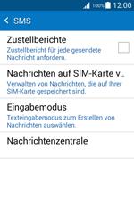 Samsung J100H Galaxy J1 - SMS - Manuelle Konfiguration - Schritt 7