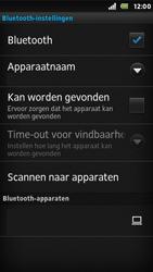 Sony ST25i Xperia U - Bluetooth - koppelen met ander apparaat - Stap 9