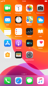 Apple iPhone 6s Plus - iOS 13 - WiFi - Attivare WiFi Calling - Fase 3