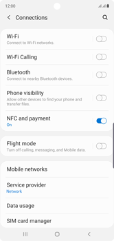 Samsung Galaxy Note 10 - Internet and data roaming - How to check if data-connectivity is enabled - Step 5