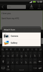 HTC C525u One SV - Email - Sending an email message - Step 12