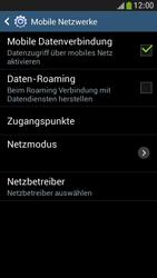 Samsung Galaxy S 4 Active - Internet und Datenroaming - Prüfen, ob Datenkonnektivität aktiviert ist - Schritt 7
