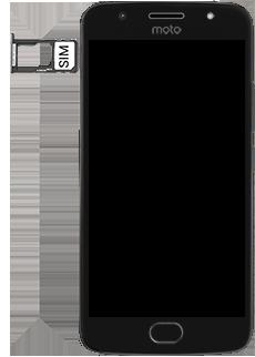 Motorola Moto G5s - SIM-Karte - Einlegen - 4 / 8