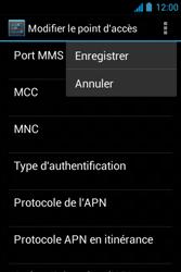 Acer Liquid Z3 - MMS - configuration manuelle - Étape 15