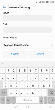 Huawei Y7 (2018) - E-Mail - Manuelle Konfiguration - Schritt 9