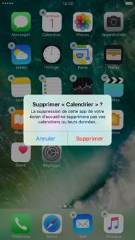 Apple iPhone 7 Plus - iOS features - Supprimer et restaurer les applications iOS par défaut - Étape 4