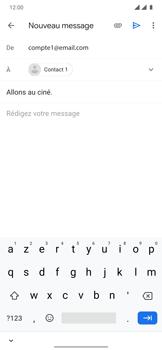 OnePlus 7T Pro - E-mails - Envoyer un e-mail - Étape 8