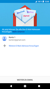 Sony Xperia XZ2 Premium - E-Mail - Konto einrichten (gmail) - Schritt 13