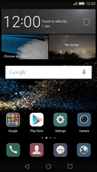 Huawei Ascend P8 - Getting started - Installing widgets and applications on your start screen - Step 1