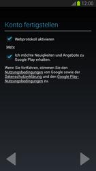 Samsung Galaxy S III - Apps - Einrichten des App Stores - Schritt 11