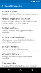 HTC One M9 - Anrufe - Anrufe blockieren - Schritt 6