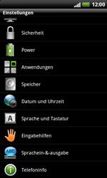 HTC X315e Sensation XL - Fehlerbehebung - Handy zurücksetzen - Schritt 6