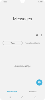 Samsung Galaxy A31 - Contact, Appels, SMS/MMS - Envoyer un SMS - Étape 4