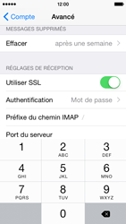 Apple iPhone 5s - iOS 8 - E-mail - Configuration manuelle - Étape 26