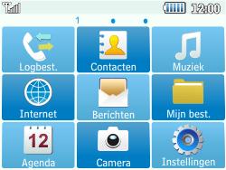 Samsung C3500 Chat 350 - E-mail - Handmatig instellen - Stap 4