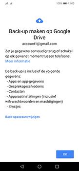 Huawei Mate 20 Lite - toestel resetten - back-up maken met jouw account - stap 13