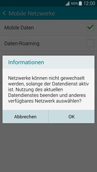 Samsung N910F Galaxy Note 4 - Netzwerk - Netzwerkeinstellungen ändern - Schritt 8
