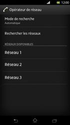 Sony Xperia T - Réseau - Sélection manuelle du réseau - Étape 8