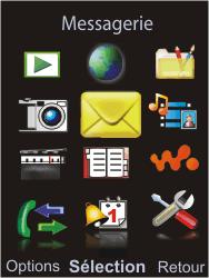Sony W595 - E-mail - Configuration manuelle - Étape 3