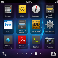 BlackBerry Q5 - WLAN - Manuelle Konfiguration - 3 / 10