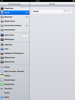 Apple iPad Retina - Gerät - Zurücksetzen auf die Werkseinstellungen - Schritt 4