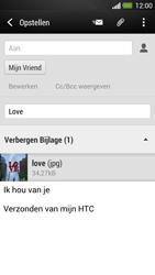 HTC One - e-mail - hoe te versturen - stap 16