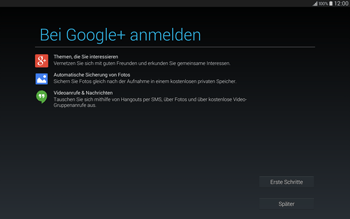 Samsung T805 Galaxy Tab S - Apps - Einrichten des App Stores - Schritt 20