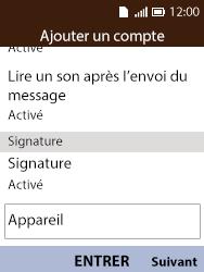 Alcatel 3088X - E-mails - Ajouter ou modifier votre compte Yahoo - Étape 9