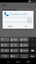 Motorola Moto G - Voicemail - Manual configuration - Step 9